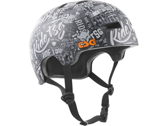 TSG Evolution Graphic Design Helmet Kinder stickerbomb